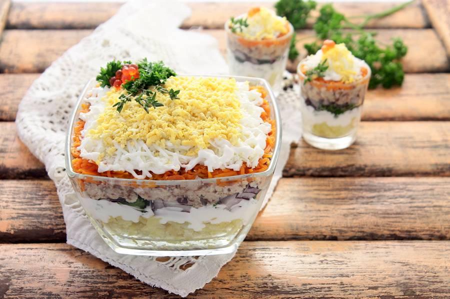 салат из сардинеллы рецепт с фото