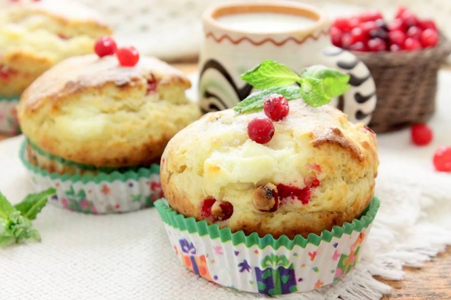 Творожные кексы в формочках рецепт пошагово в духовке