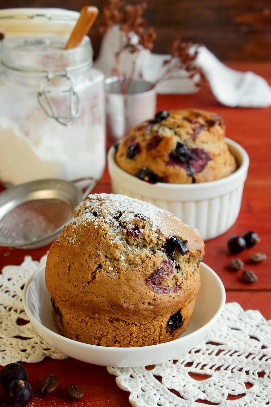 Кексы с черной смородиной замороженной рецепт