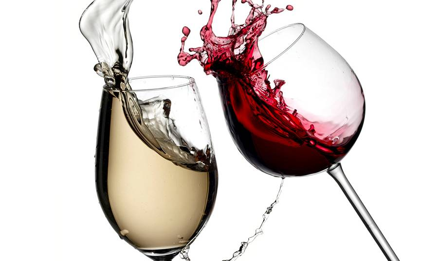 Красное и белое вино