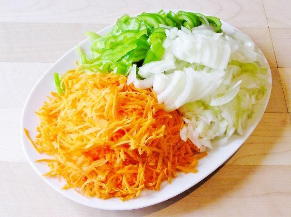 Овощи для плова