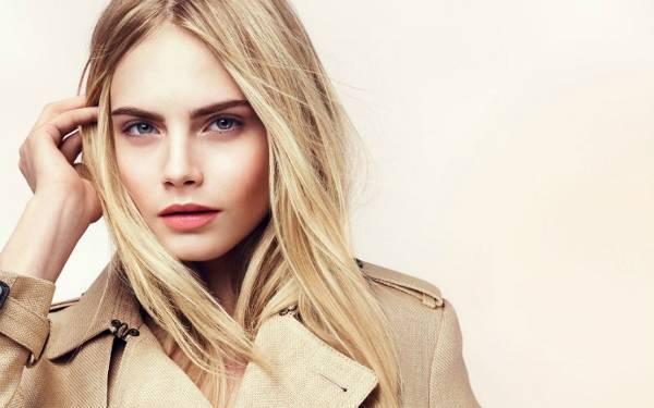 Правильный цвет бровей для блондинок