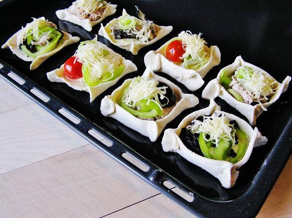Приготовление тартинок с различной начинкой