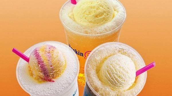 Мороженое с газировкой