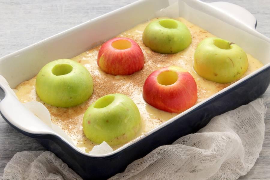 Погружаем яблоки
