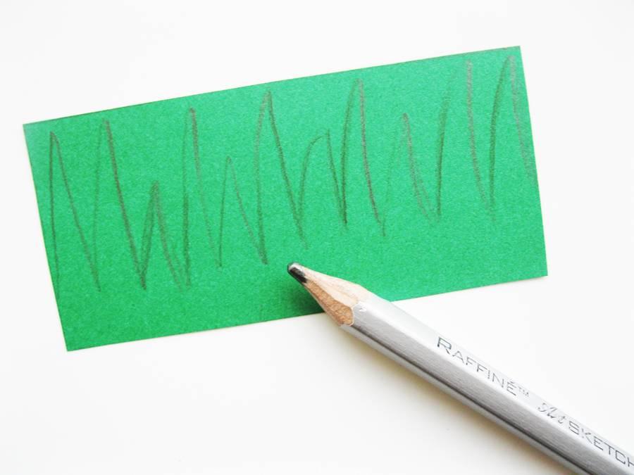 Рисуем траву