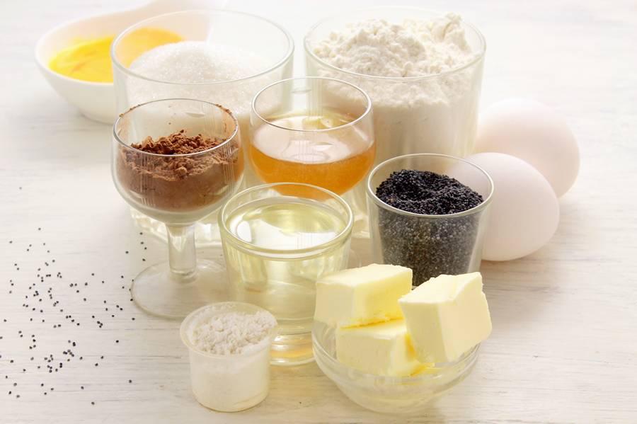 Ингредиенты для пирога с маком