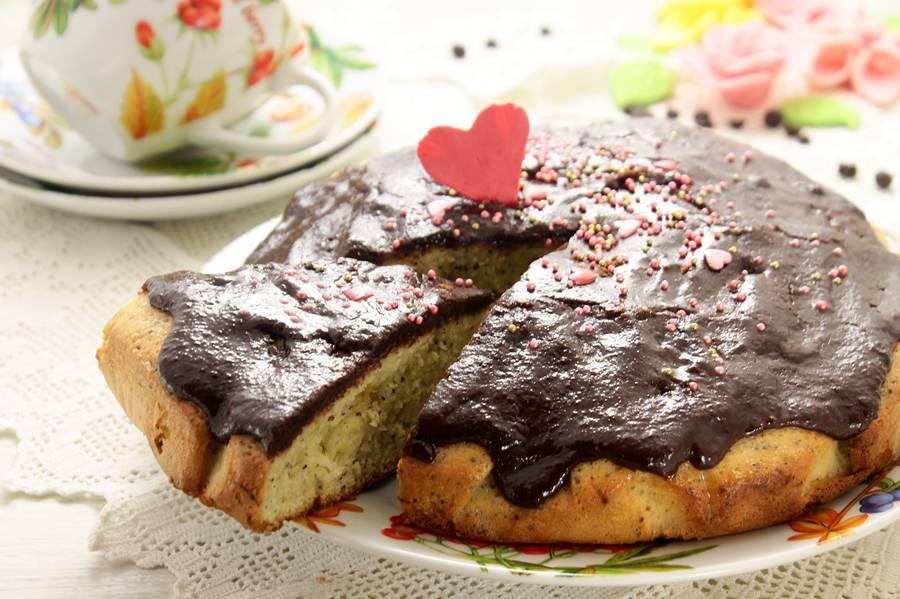пирог с маковой начинкой рецепт с фото