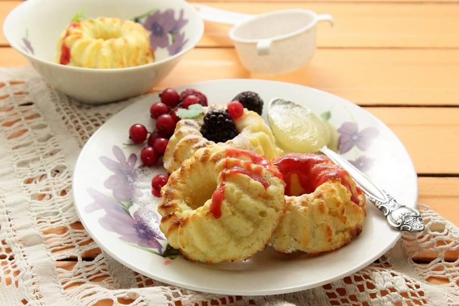 Рецепт пирога из творога с яблоками в духовке рецепт с фото