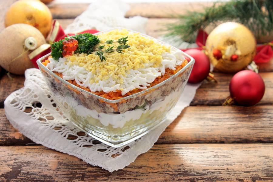 нашли аветисяна салат мимоза новый рецепт с фото мае этого года