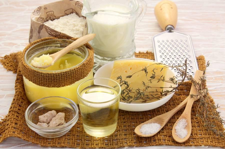 Ингредиенты для хлеба гармошки