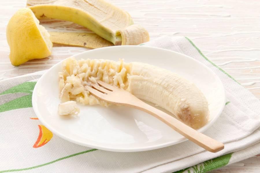 Приготовление банановых оладий