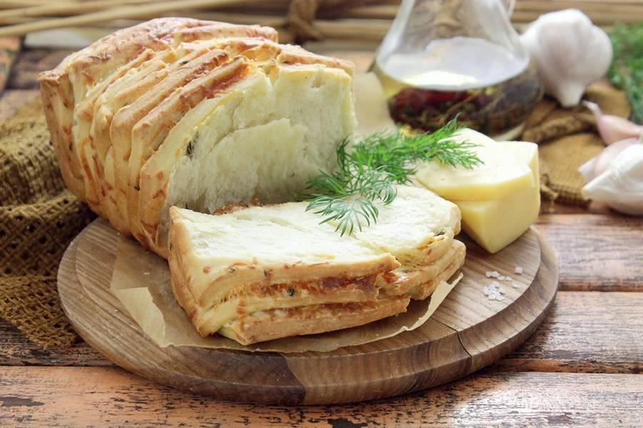 Домашний хлеб гармошка