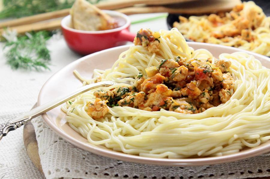 Спагетти болоньезе классический итальянский рецепт с фото