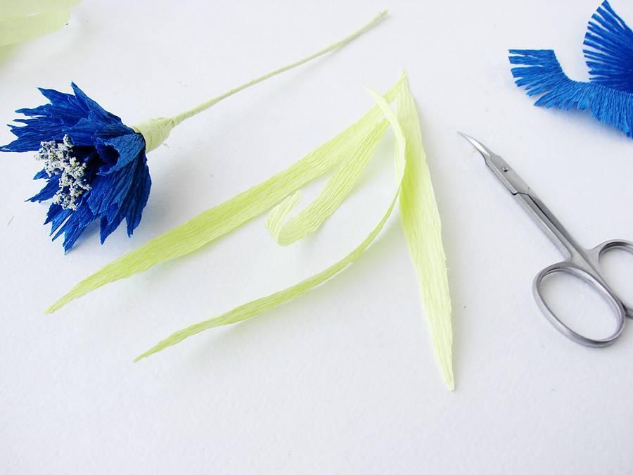 Изготовление поделки из бумаги, шаг 15