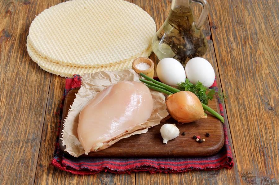 Ингредиенты для куриных котлет