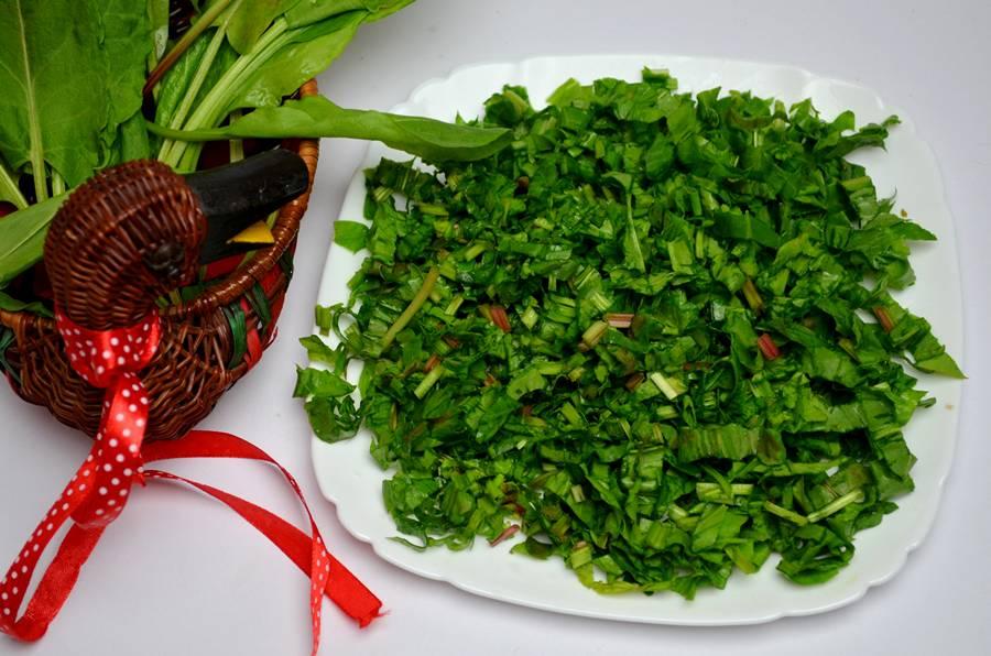Приготовление зеленого борща с телятиной, шаг 6