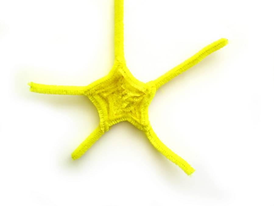 Игрушка Морская звезда своими руками