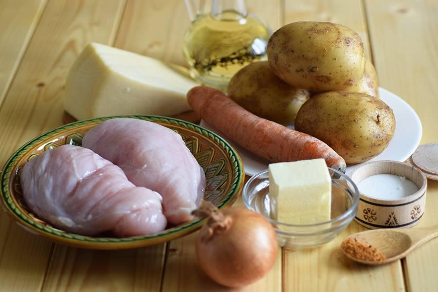 Ингредиенты для куриного жаркого