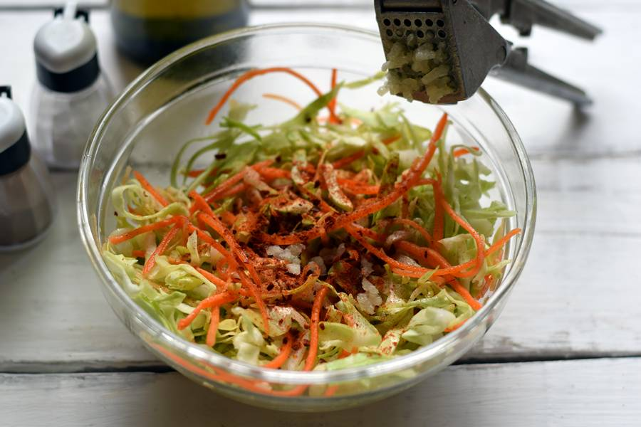 Приготовление капусты по-корейски