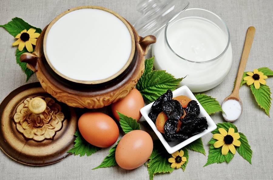 Ингредиенты для домашнего сыра