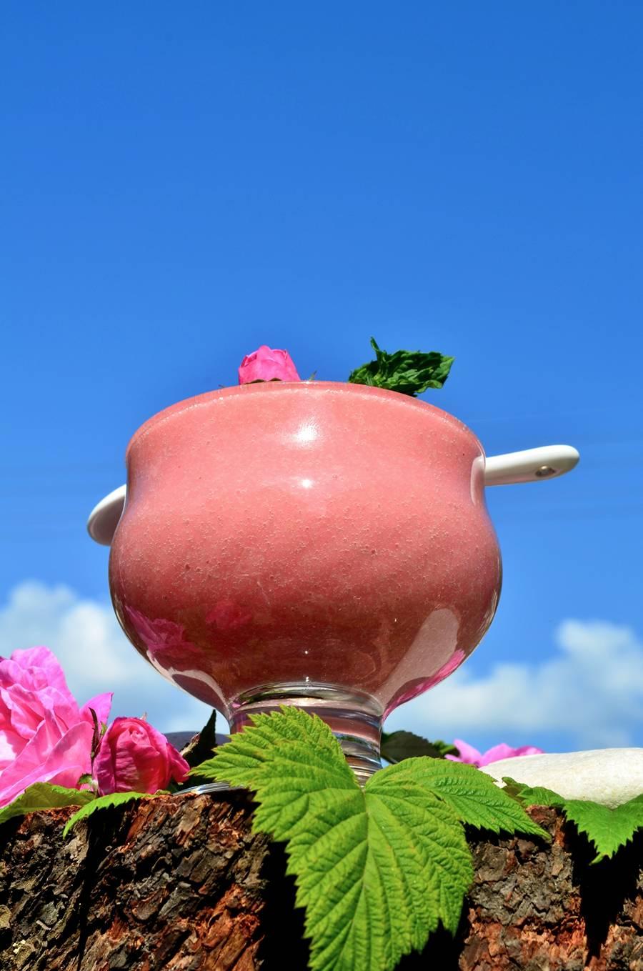 Мусс из чайной розы