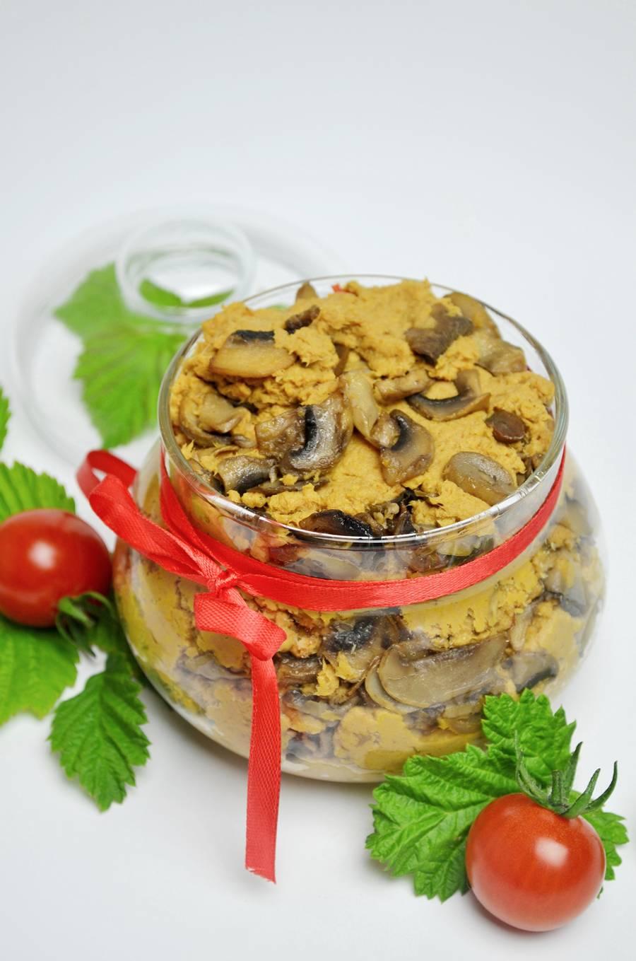 Мясной паштет с грибами