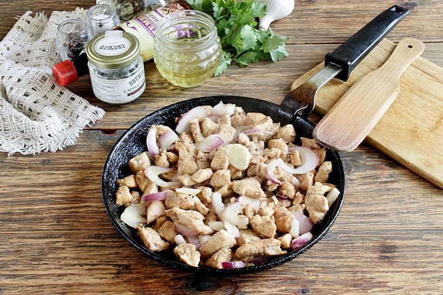 Приготовление курицы в соевом соусе на сковороде