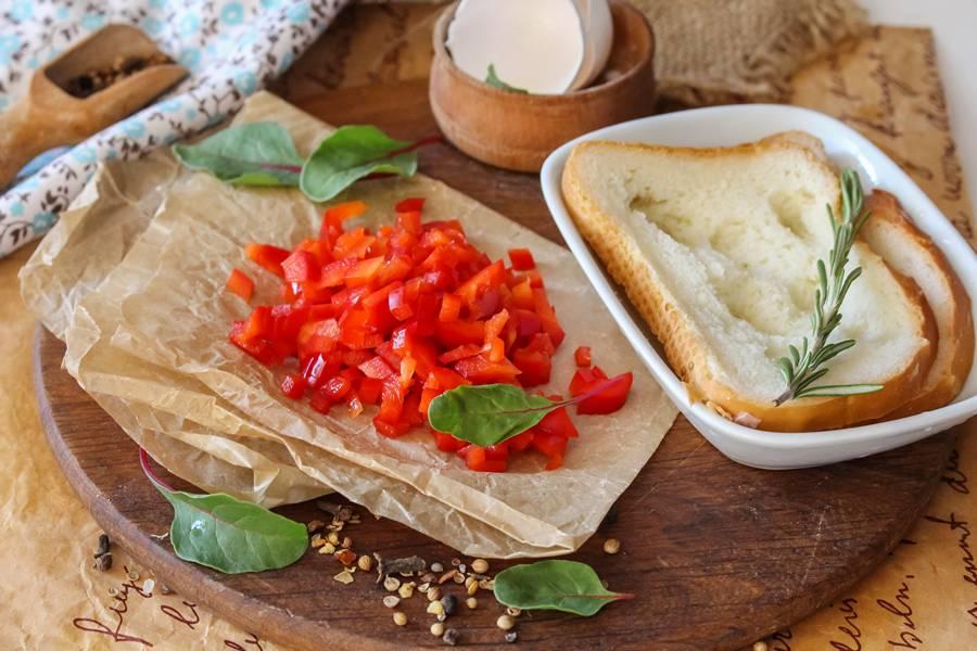 Приготовление мясных котлет с болгарским перцем