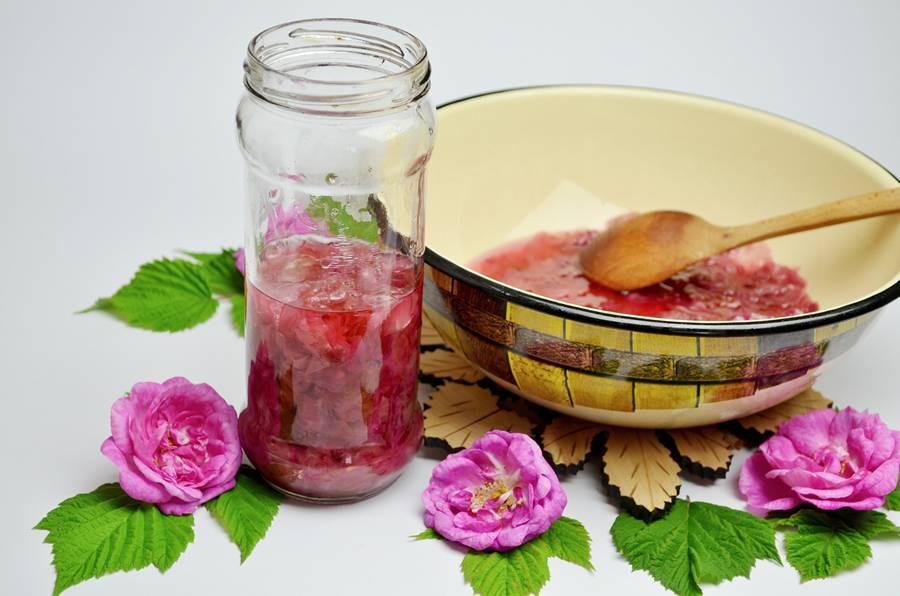 Приготовление варенья из чайной розы