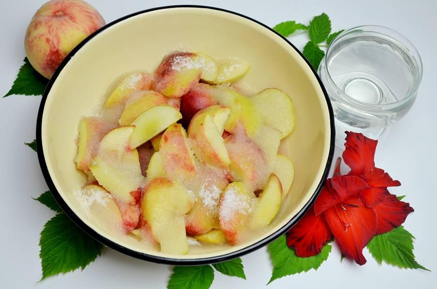 Приготовление варенья из персиков