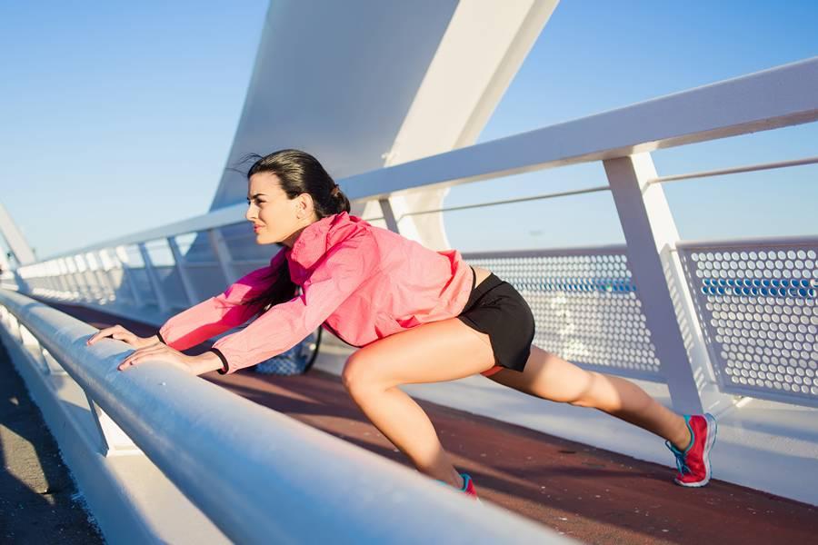 Упражнение бег в упоре