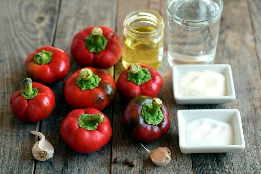 Ингредиенты для консервации перца