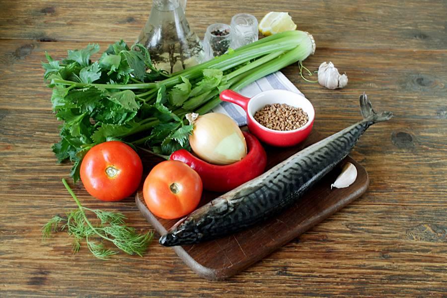 Ингредиенты для запекания скумбрии