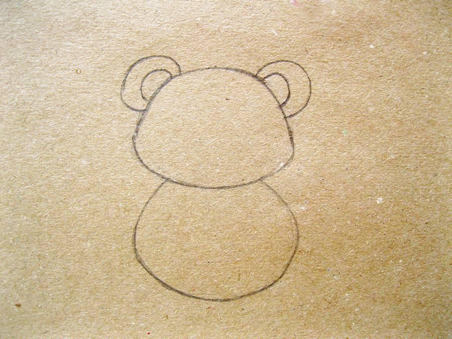 Как нарисовать панду