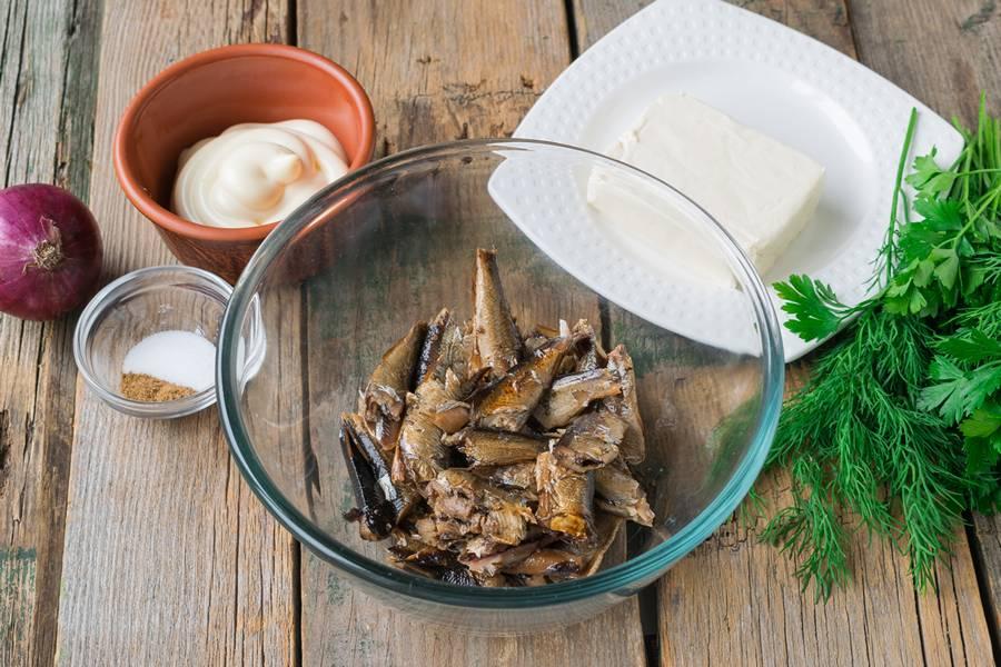 Приготовление шпротного паштета