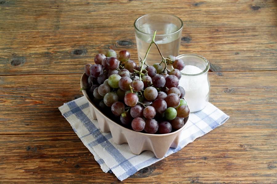 Виноград для закрывания на зиму