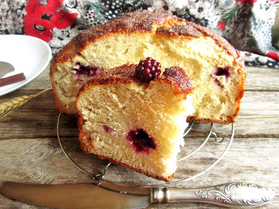 Ежевичный пирог