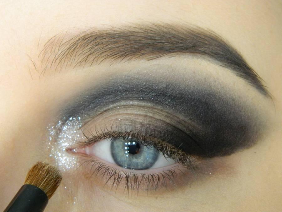 Как сделать новогодний макияж шаг-7