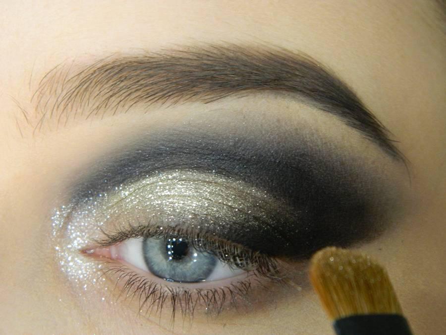 Как сделать новогодний макияж шаг-8