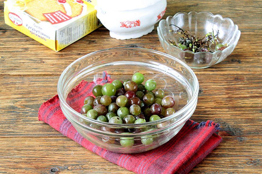 Приготовление виноградного киселя