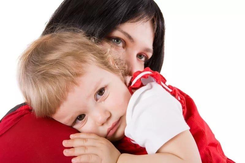 Тревожная мама - тревожный ребенок