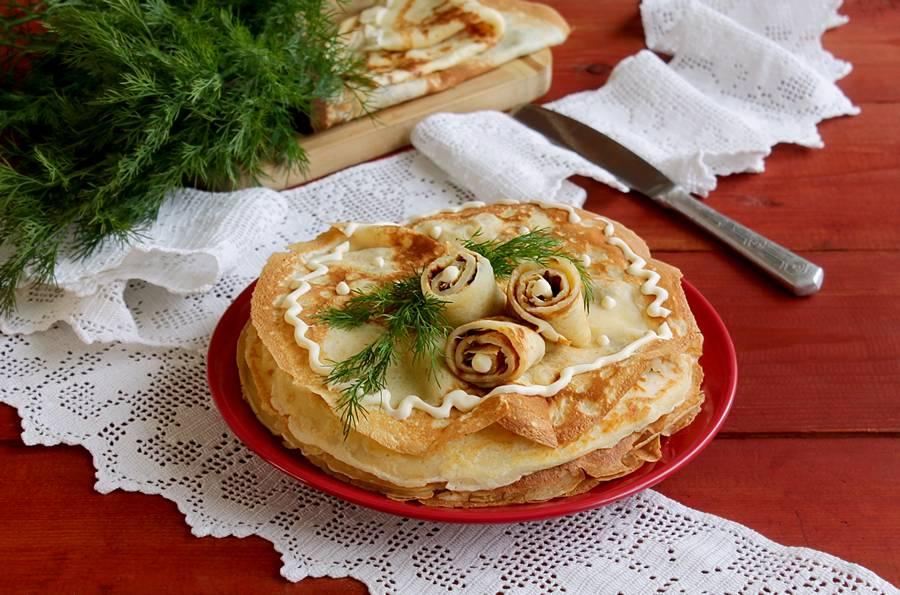 баннер для пироги из блинов рецепты фото фото для