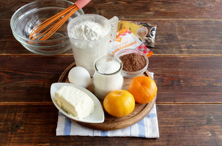 Ингредиенты пряных кексов