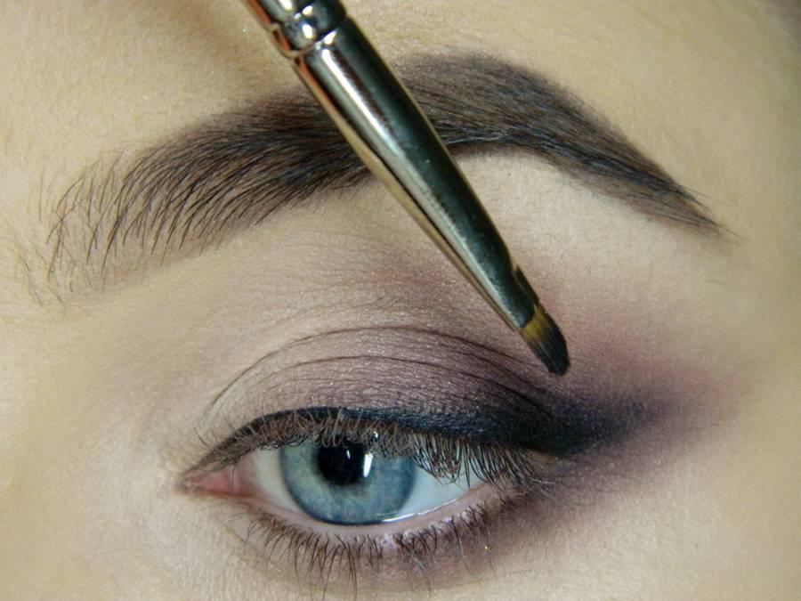 Как сделать легкий повседневный макияж глаз шаг 12