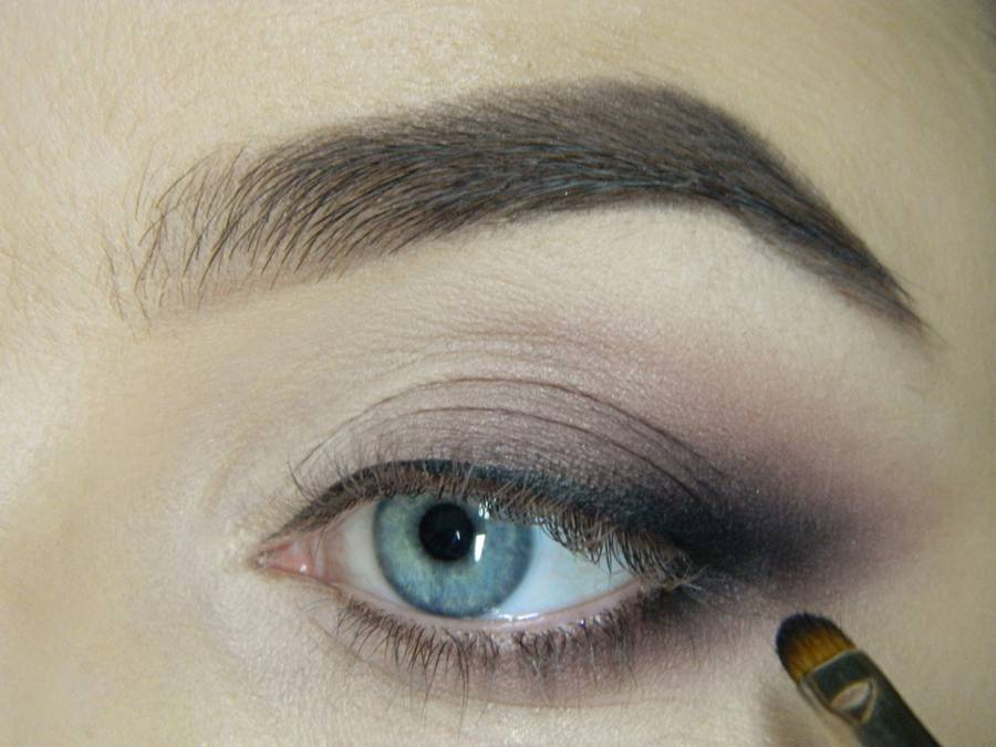 Как сделать легкий повседневный макияж глаз шаг 13