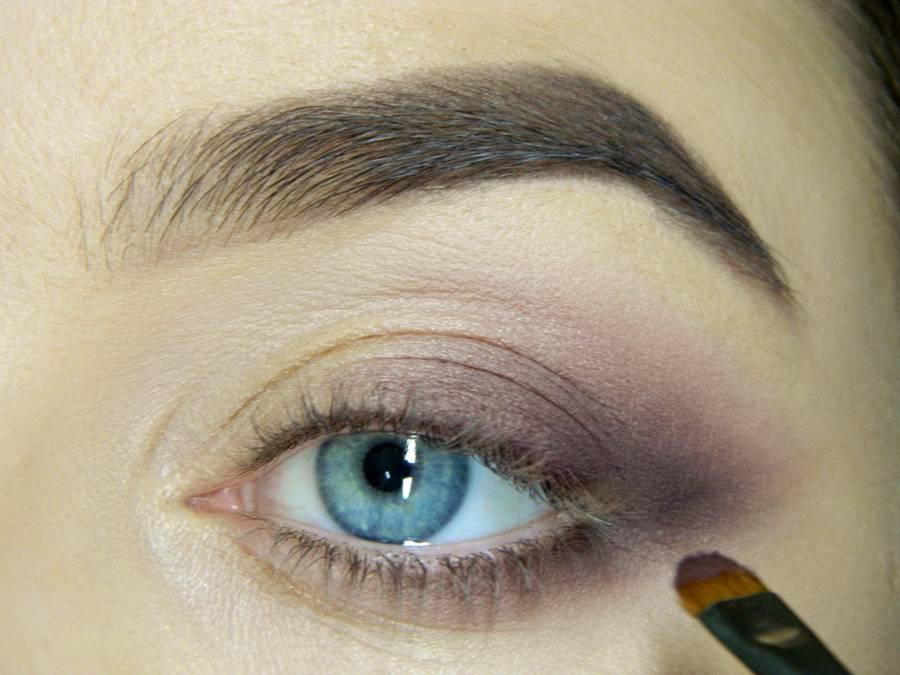 Как сделать легкий повседневный макияж глаз шаг 8