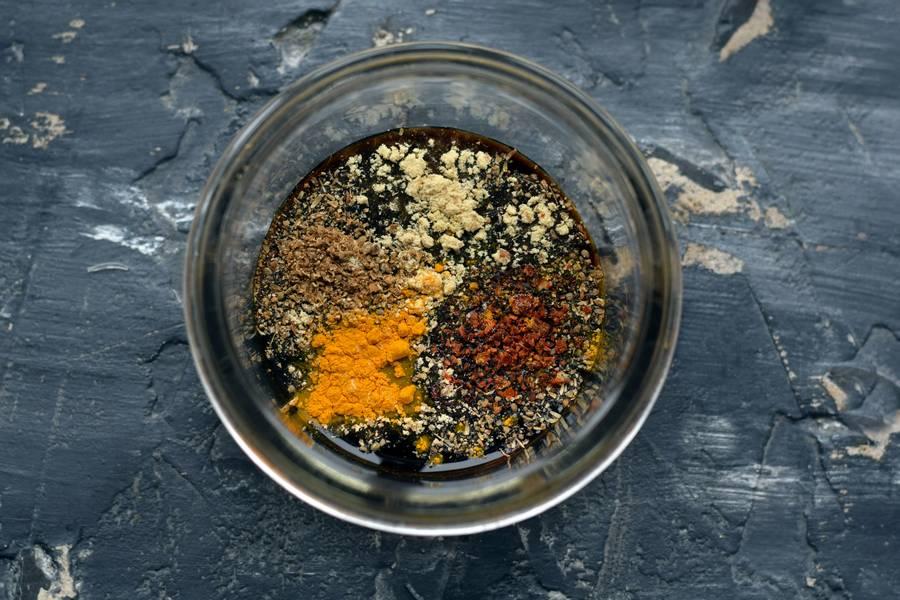 Приготовление фунчозы с овощами шаг 10