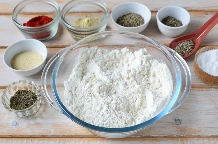 Приготовление голени в пряной панировке шаг 3