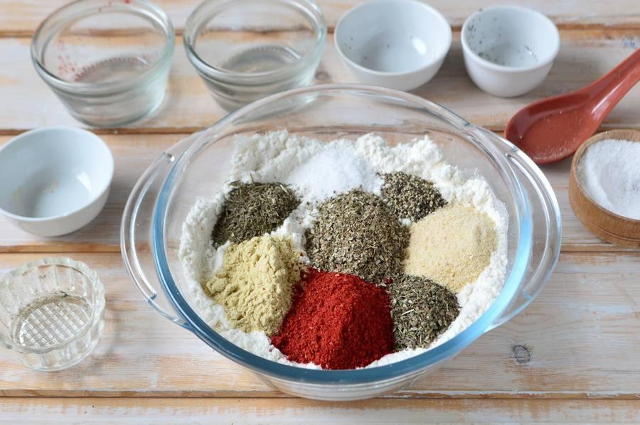 Приготовление голени в пряной панировке шаг 4